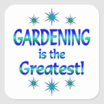El cultivar un huerto es el más grande calcomanía cuadradase