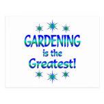 El cultivar un huerto es el más grande tarjetas postales
