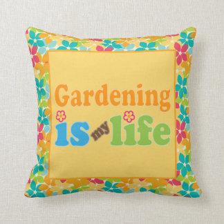 El cultivar un huerto es mi regalo de la almohada
