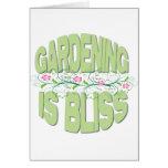 El cultivar un huerto es regalos de la dicha felicitación