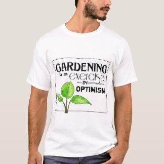 El cultivar un huerto es un ejercicio en optimismo playera