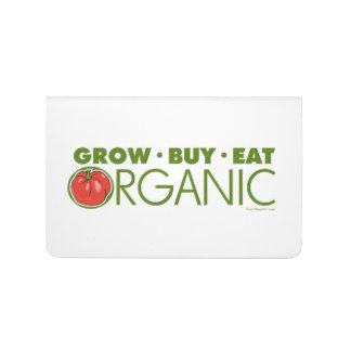 El cultivar un huerto orgánico