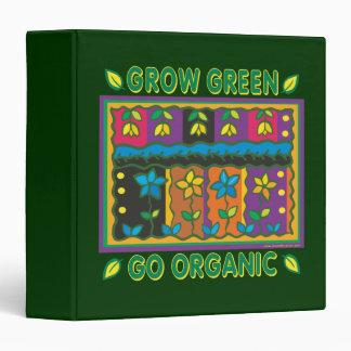 """El cultivar un huerto orgánico carpeta 1 1/2"""""""