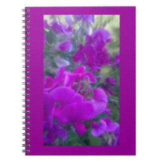 El cultivar un huerto y notas libro de apuntes con espiral