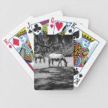 El Cumberland en negro Baraja Cartas De Poker