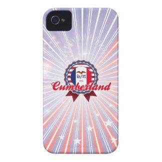 El Cumberland IA iPhone 4 Case-Mate Funda