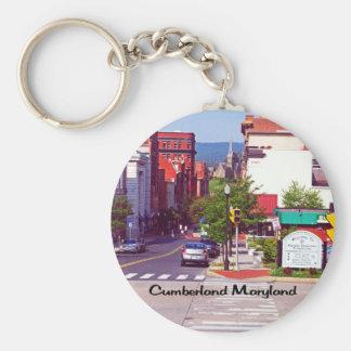 El Cumberland Maryland Llavero Redondo Tipo Pin