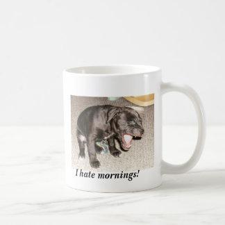 ¡el cumpleaños 006, odio mañanas! taza de café