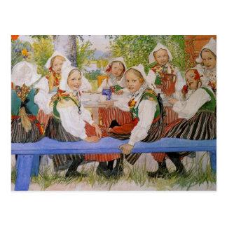 El cumpleaños 1909 de Kersti Postales
