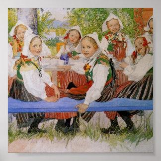 El cumpleaños 1909 de Kersti Póster