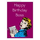El cumpleaños adaptable de Boss Felicitacion