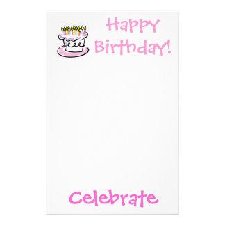 ¡el cumpleaños, celebra, feliz cumpleaños!  papeleria