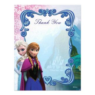 El cumpleaños congelado de Ana y de Elsa le agrade Comunicados Personalizados