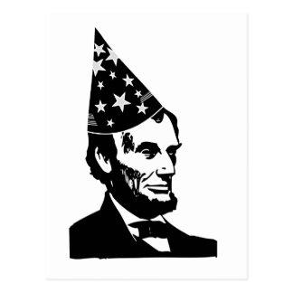 El cumpleaños de Abraham Lincoln Postal