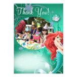 El cumpleaños de Ariel le agradece las tarjetas