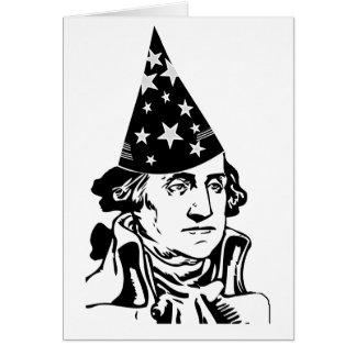 El cumpleaños de George Washington Tarjeta De Felicitación