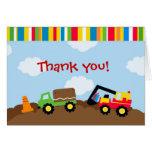El cumpleaños de la construcción le agradece las t tarjeta