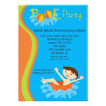 El cumpleaños de la fiesta en la piscina de los mu