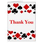 El cumpleaños de Las Vegas del casino le agradece  Felicitación