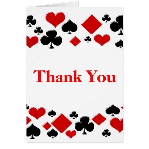 El cumpleaños de Las Vegas del casino le agradece  Tarjeta Pequeña