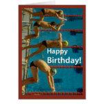 El cumpleaños de los hombres de la natación
