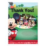 El cumpleaños de Mickey Mouse le agradece las tarj