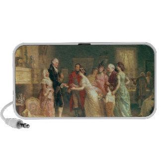 El cumpleaños de Washington, 1798 Portátil Altavoces