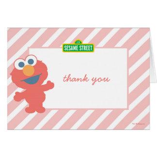 El cumpleaños del bebé de Elmo le agradece Tarjeta Pequeña