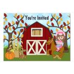 El cumpleaños del caballo del otoño de la vaquera anuncio