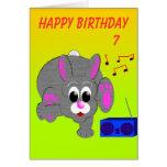 El cumpleaños del conejito de Breakdance Felicitaciones