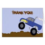 El cumpleaños del monster truck doblado le agradec felicitacion