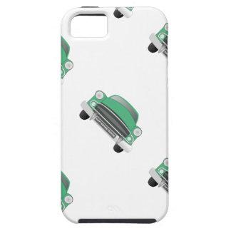 El cumpleaños del muchacho retro malo verde del funda para iPhone SE/5/5s