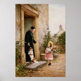 El cumpleaños del sacerdote póster