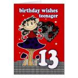 el cumpleaños desea la tarjeta de felicitación par