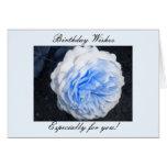 El cumpleaños desea… tarjeta de felicitación