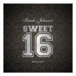 El cumpleaños elegante del dulce dieciséis de Dama Invitaciones Personales