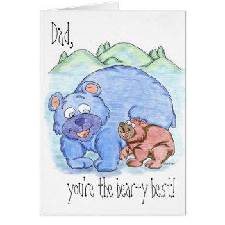El cumpleaños feliz de /Happy del día de padre/le Tarjeta De Felicitación