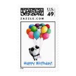 El cumpleaños hincha el oso de panda envio