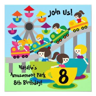 """El cumpleaños modificado para requisitos invitación 5.25"""" x 5.25"""""""