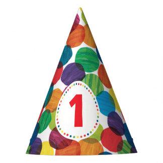 El cumpleaños muy hambriento de Caterpillar Gorro De Fiesta