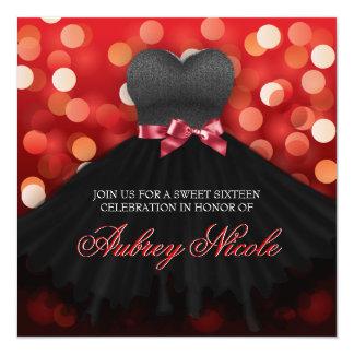 El cumpleaños negro del vestido del dulce comunicado