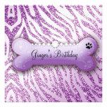 El cumpleaños púrpura del chucho elegante 311 invi anuncios
