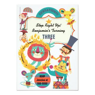 """El cumpleaños sensacional de los niños de los invitación 5"""" x 7"""""""
