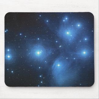 El cúmulo de estrellas de Pleiades Tapete De Raton