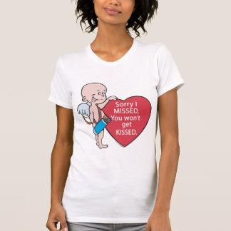 El Cupid divertido faltó productos Antis-Vday Playera
