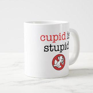 El Cupid es taza del jumbo del día de las Anti-Tar Taza Grande