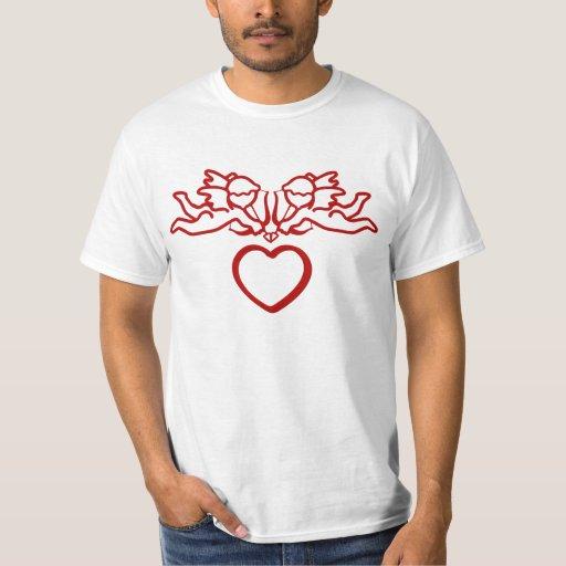 El Cupid pega DOS VECES la camisa de encargo -