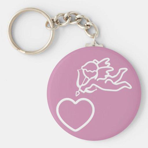 El Cupid pega el llavero de encargo