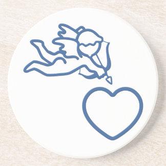 El Cupid pega el práctico de costa de encargo Posavaso Para Bebida