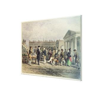 El curandero, 1857 impresión en lienzo